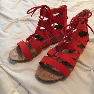 Sam & Libby size 7 1/2 gladiator sandal